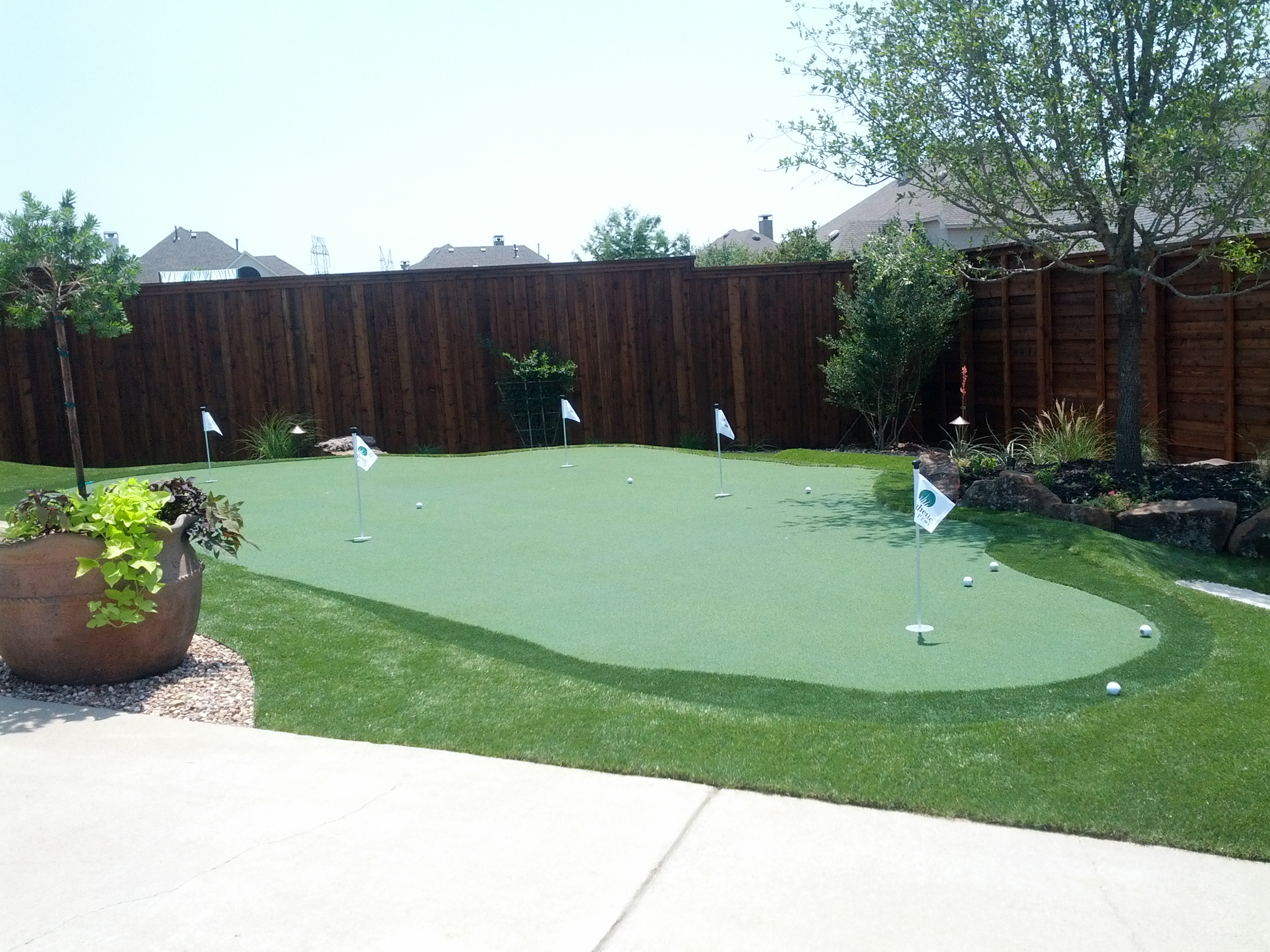 Backyard Putting Greens DFW – Synthetic Turf Depot